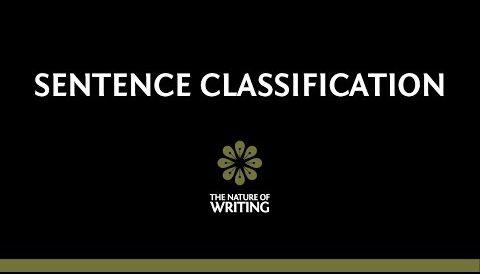 Sentence Classification: Simple, Compound, Complex, Compound-Complex