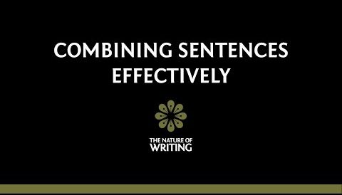 How to Combine Sentences Effectively