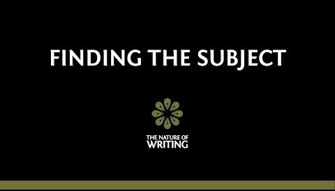 Finding the Subject | Sentence Structure | The Nature of Writing