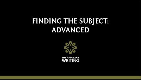 Finding the Subject: Advanced