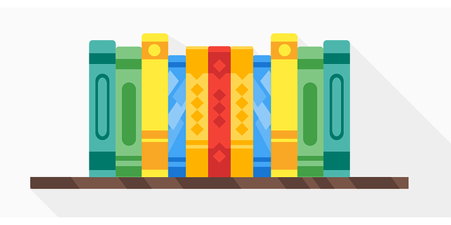Image of books to illustrate Aristotle's Four Causes