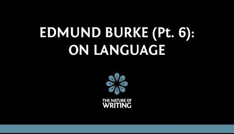 Edmund Burke on Language