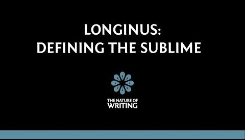 Longinus and the Problem of Defining the Sublime