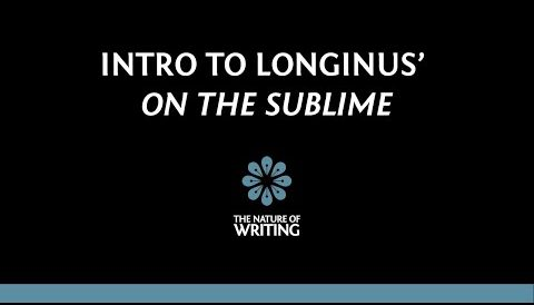 Introduction to Longinus' On the Sublime