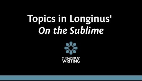 Topics in Longinus' On the Sublime